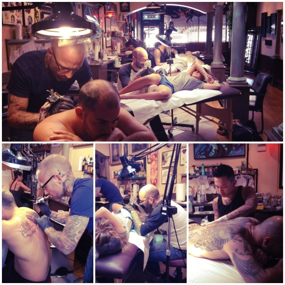 Tattoo Time at Empire State Studio